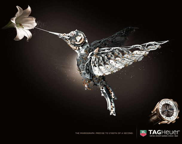 TAG Heuer The win of Micrograph campagin