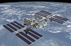 תחנת החלל הבינלאומית. קרדיט: NASA.