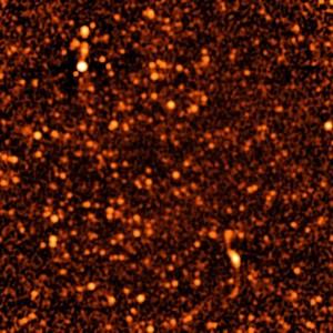 כוכבים בחלל העמוק. קרדיט: NRAO/AUI/NSF.