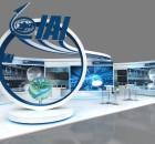 ביתן התעשייה האווירית בכנס התקשוב