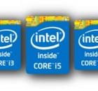 מעבדי Core מגיעים ב-3 מחלקות עוצמה: i3, i5, i7