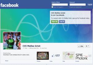 דף הפייסבוק של CVI