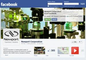 דף הפייסבוק של Newport