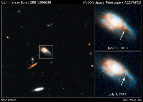 צלום של טלסקופ החלל של הזהב שנוצר