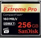 SanDisk 256GB Extreme Pro 160 MByteps CompactFlash