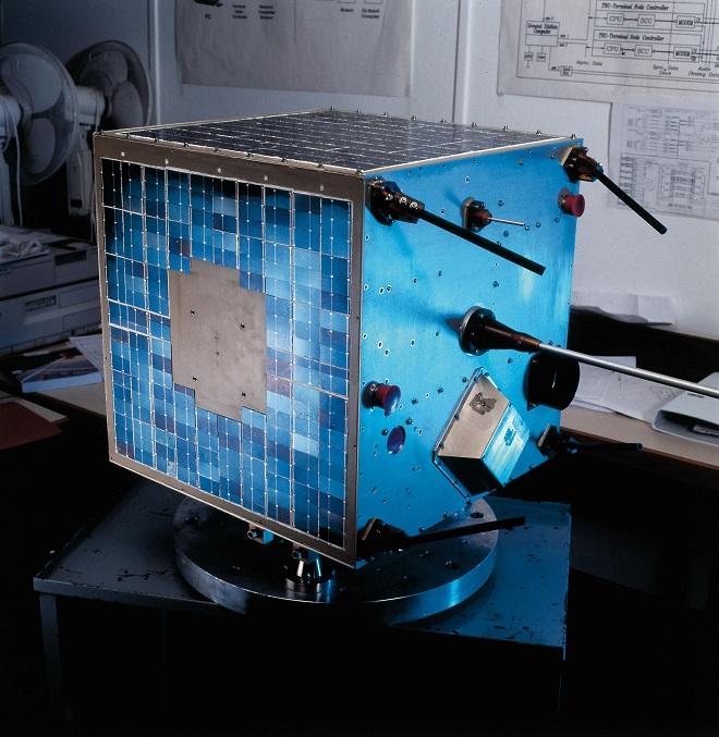 לווין הטכניון טרם שיגורו בשנת 1998.
