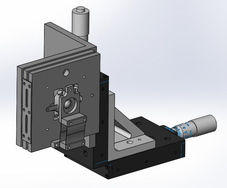 פריט תכנון אופטו-מכני מפרויקט שבוצע על ידי כותב המאמר